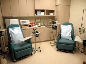 Physician based infusion center